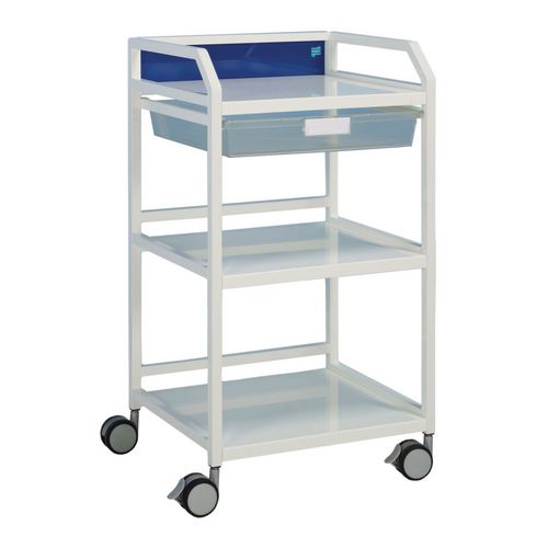 Howarth Trolley 4 (Blue) 1 Tray HxWxD 960x570x450