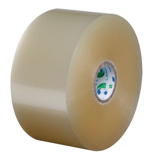 Umax Packing Tape Polypropylene Noisy 48mmx150Mtr 25Mu Clear 25mm Core