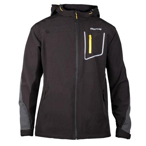 Capstone Hooded Soft Shell Jacket Large Black