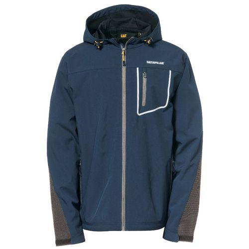 Capstone Hooded Soft Shell Jacket Medium Marine