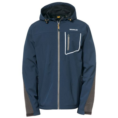 Capstone Hooded Soft Shell Jacket Xxl Marine