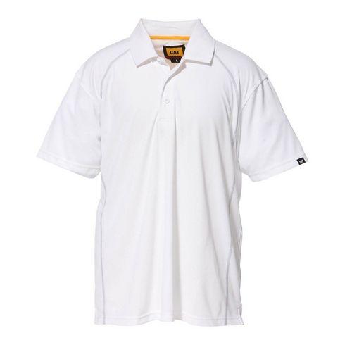 Advanced Performance Polo Shirt Medium White