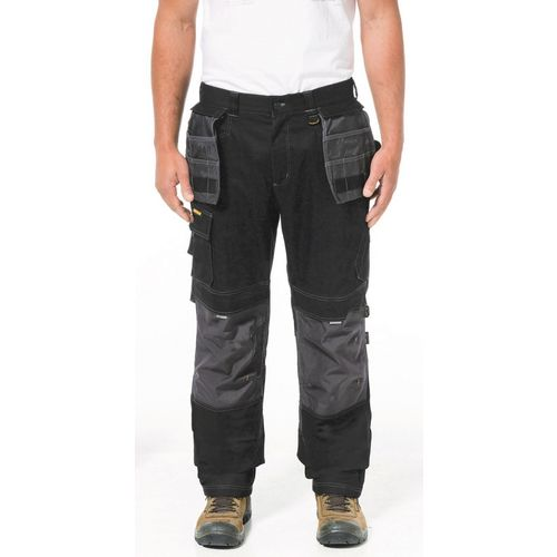 """H2O Defender Trouser 40X30"""" Short Black Graphite 30"""" Leg"""