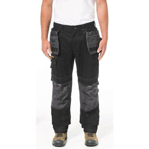 """H2O Defender Trouser 36X34"""" Long Black Graphite 34"""" Leg"""