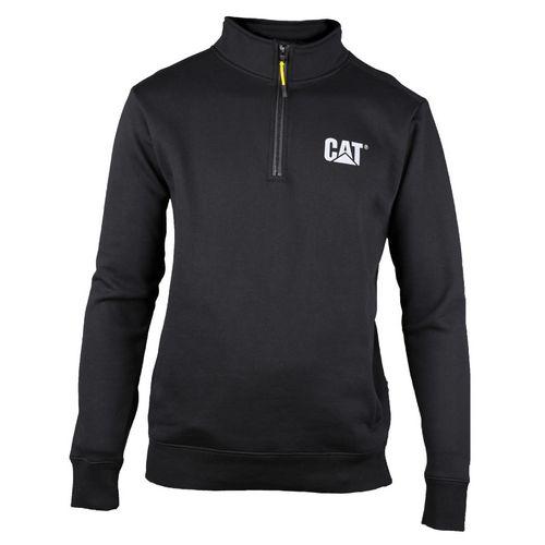 Canyon 1/4 Zip Sweatshirt Large Black