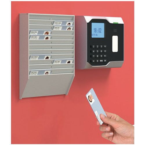 Fast Paper Id/Badge Rack 24 Compartments