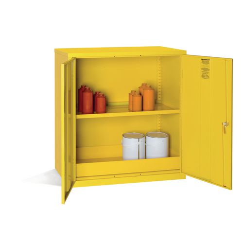 Dangerous Substance Cabinet Wall Mountable Ext. D457xH480mm