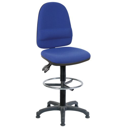 Ergo Twin Draughting Chair Blue