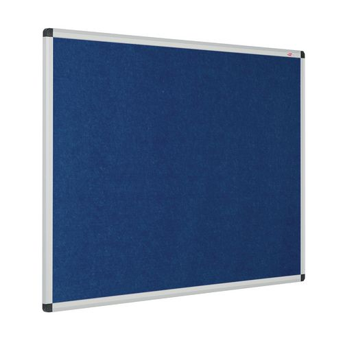 Eco-Colour Aluminium Framed Resist-A-Flame Board 1200x1500mm Blue