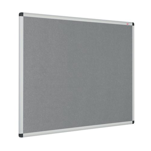 Eco-Colour Aluminium Framed Resist-A-Flame Board 1200x1500mm Grey