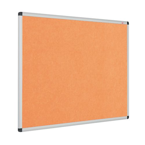 Eco-Colour Aluminium Framed Resist-A-Flame Board 1200x1500mm Orange
