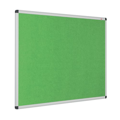 Eco-Colour Aluminium Framed Resist-A-Flame Board 1200x1800mm Apple Green