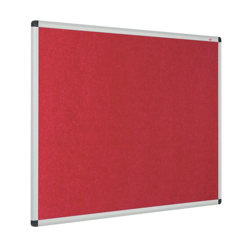 Eco-Colour Aluminium Framed Resist-A-Flame Board 1200x2400mm Red