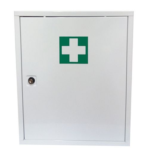 First Aid Cabinet White And Green 400x300