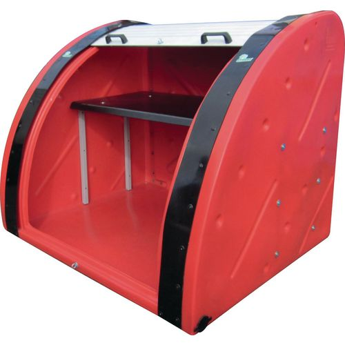 Sturdy Mini Bunker Red