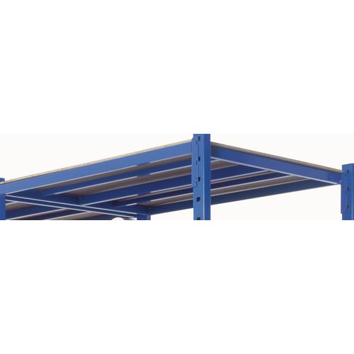 Extra Shelf With Cover Heavy Duty Tubular 1010X500mm Blue