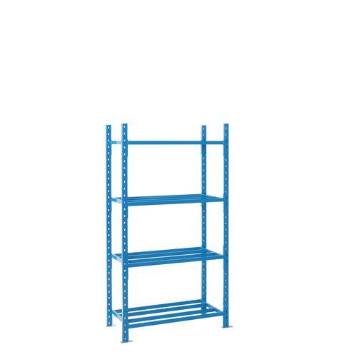 Shelving Heavy Duty Tubular Starter Bay With Shelf Cover 4 Shelves 2000X1250X600mm