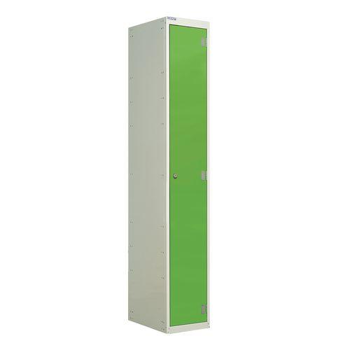Laminate Door Lockers Green Door Wet Area 1800.300.300 1 Compartment