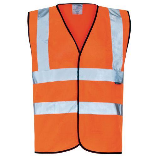 Hi Vis Vest Medium Orange