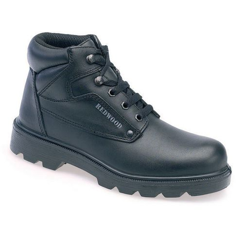 Smooth Leather Contract Derby Boot Uk Size 10 Eu Size 44. Breathable Liner S1 S