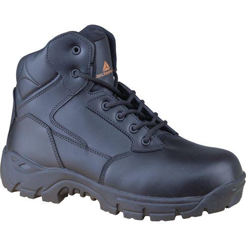 Marines Premium Full Grain Smooth Leather Uniform Boot Black Uk Size 4 Eu Size 3