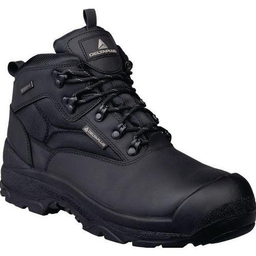 Samy Premium Leather Hiker Black  Uk Size 12 Eu Size 47