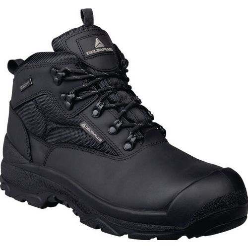 Samy Premium Leather Hiker Black  Uk Size 13 Eu Size 48