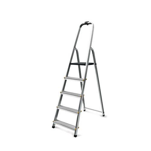 Aluminium Platform Step 5 Tread En131 150Kg Capacity