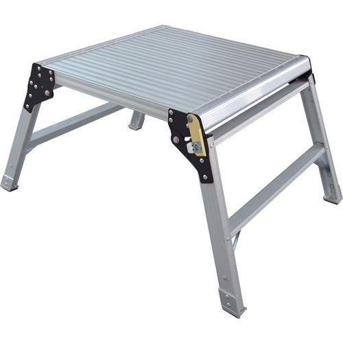 Fold-Up Platform 600x600mm En131/2Pfg1240 All Aluminium
