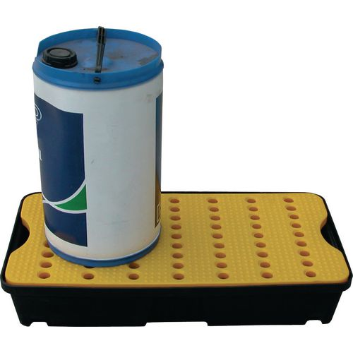 30 Litre Spill Tray With Yellow Platform
