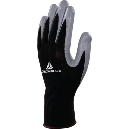 Nitrile Coated Knitted Polyester Glove Gauge 13 Size 10