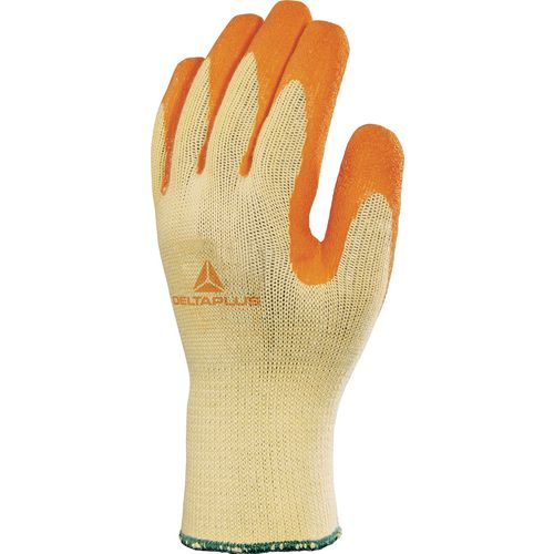 Latex Coated Knitted Polyester &Cotton Glove Size 9