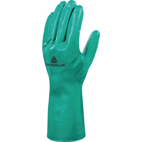 Nitrile Flock Lined Chemical Glove 33Cm Size 11