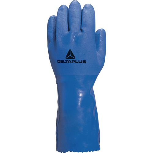 Pvc Coated Cotton Lined Glove Size 8