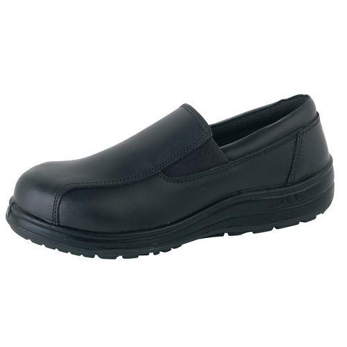Ladies Slip On Venice Action Leather Shoe Uk Size 5 Eu Size 38