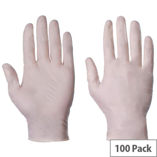 Latex Powdered Gloves Medium