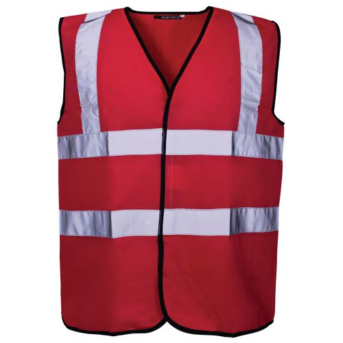 Hi Vis Vest Red 2Xlarge
