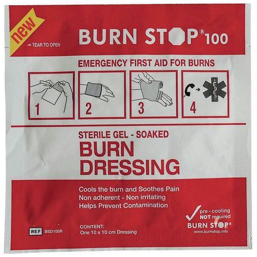 Burn Stop Burn Dressing 10X10Cm