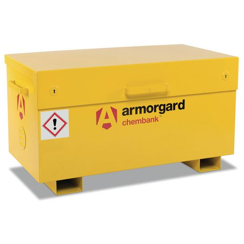 Chemical Storage Chest With Pallet Feet 85L 1275x675x665mm