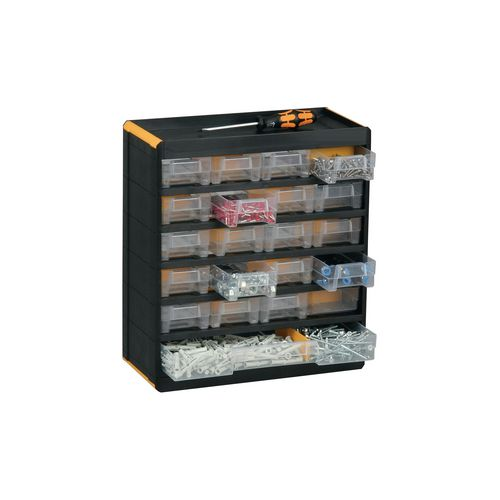 21-Drawer Professional Cabinet 335X300X135 Pk Of 2