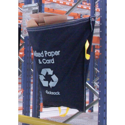 Blue Racksack for Mixed Recycling