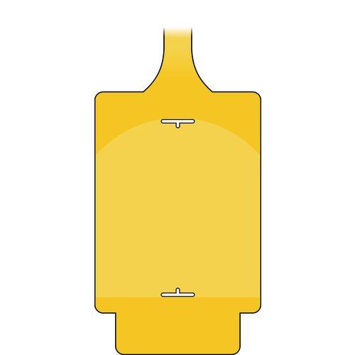 Assettag Flex Blank Pack 50 Yellow