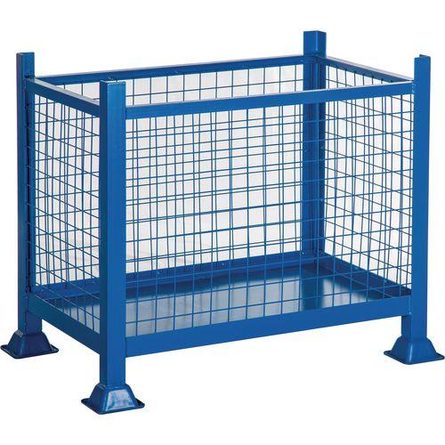 Steel Box Pallet Sheet Sided HxWxD 760x915x915mm - 500kg Capacity