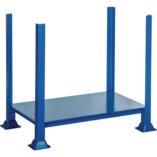 Steel Post Pallet No Sides HxWxD 455x610x610mm - 500kg Capacity