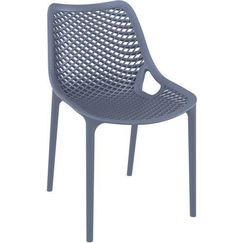 Denver Chair Anthracite V1400-An