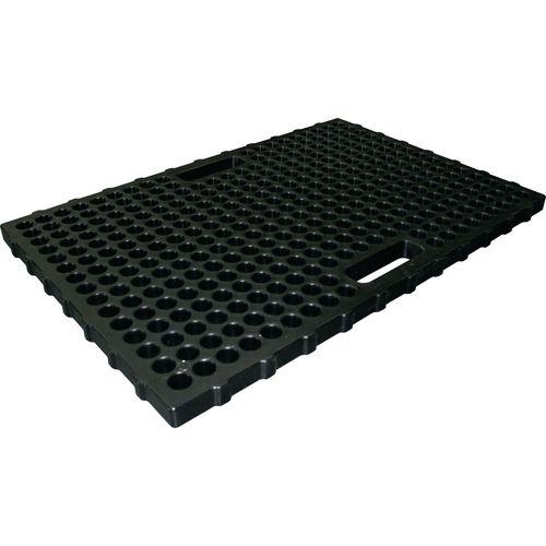 Europallet Platform,2 Drum Black