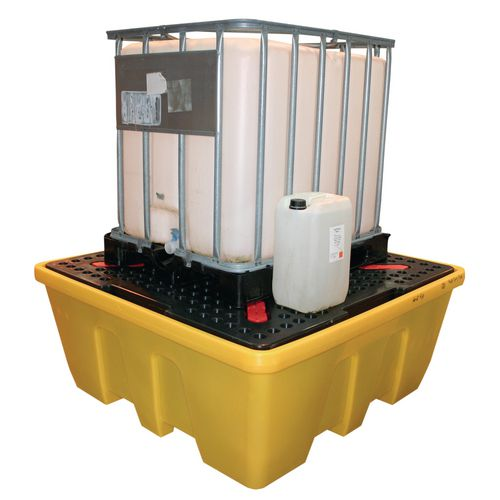 Ibc Spill Pallet Stackable Yellow