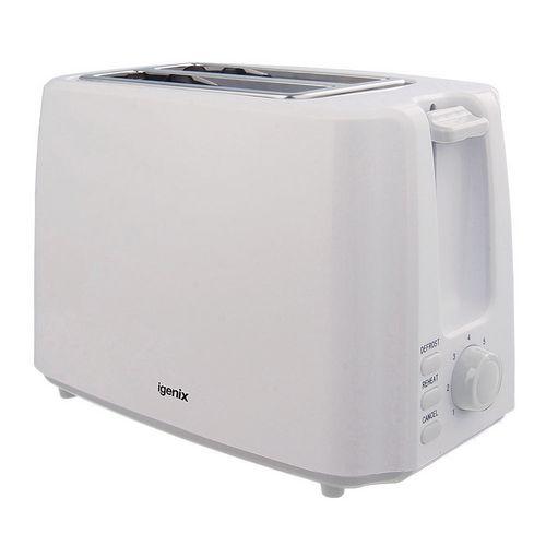 2 Slice Toaster White