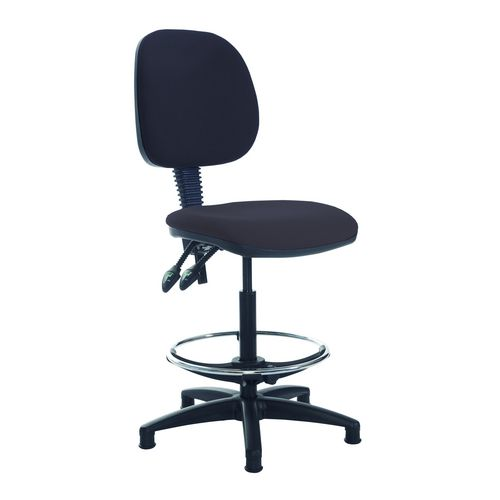 Vantage Plus Draughtmans Chair In Charcoal