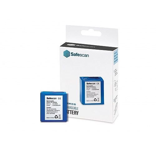 Safescan LB-105 Rechargeable Battery for Counterfeit Detector